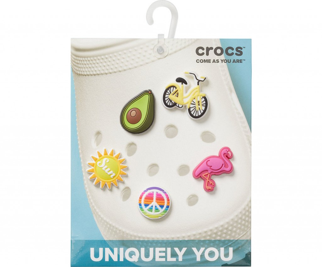 Джибитс шармс CROCS JibbitzSunnyDays5Pack, Артикул: 10008034, фото 2