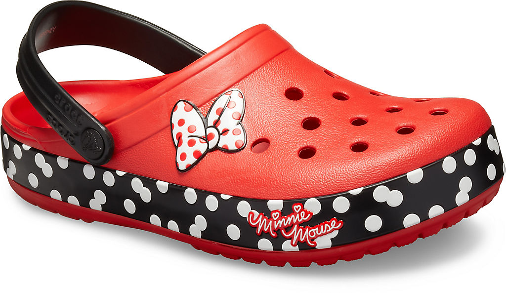 Crocband™ Minnie Dots Clog None