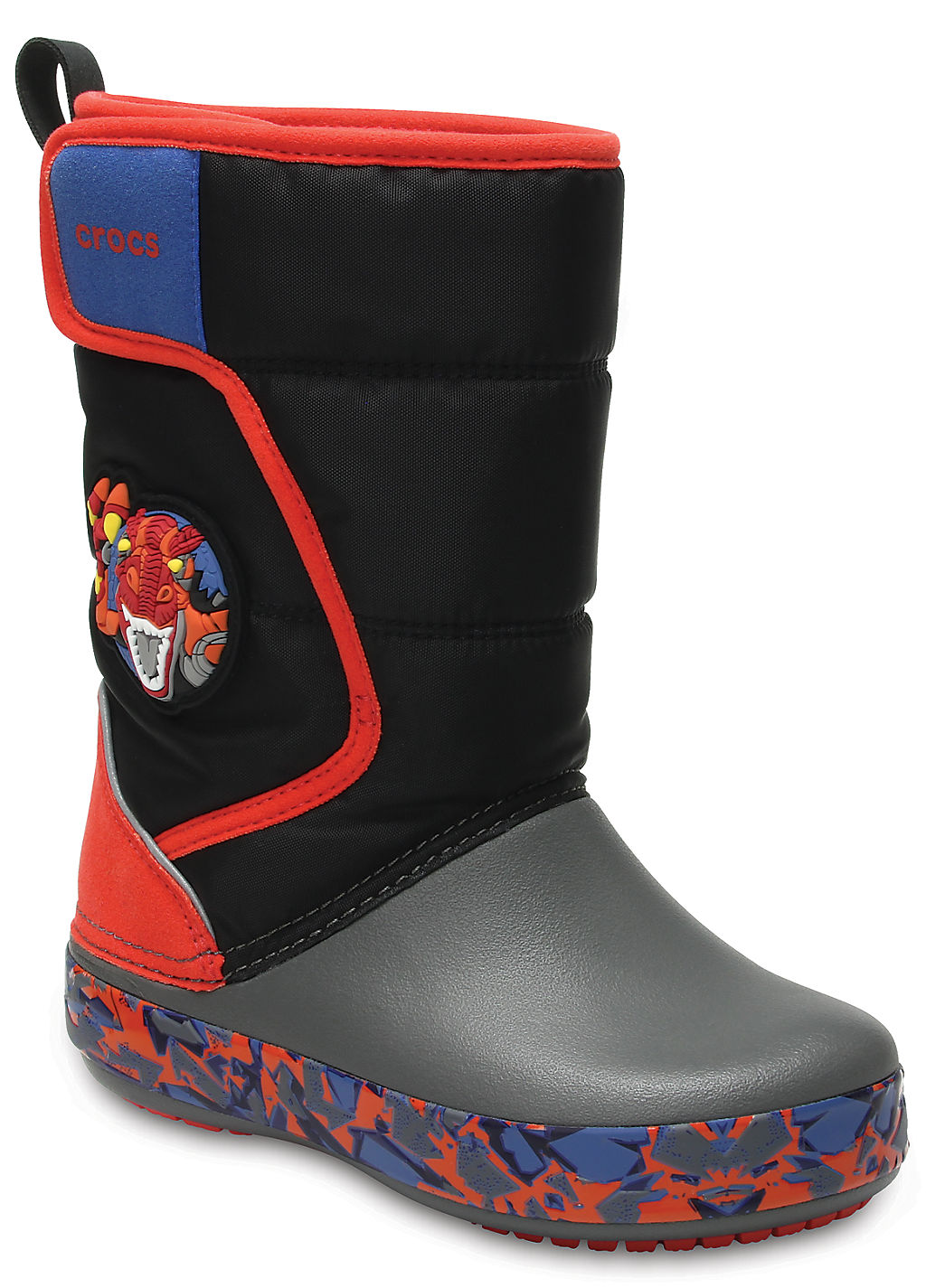 Купить со скидкой Kids' Crocs LodgePoint Lights Robosaur Rex Boot