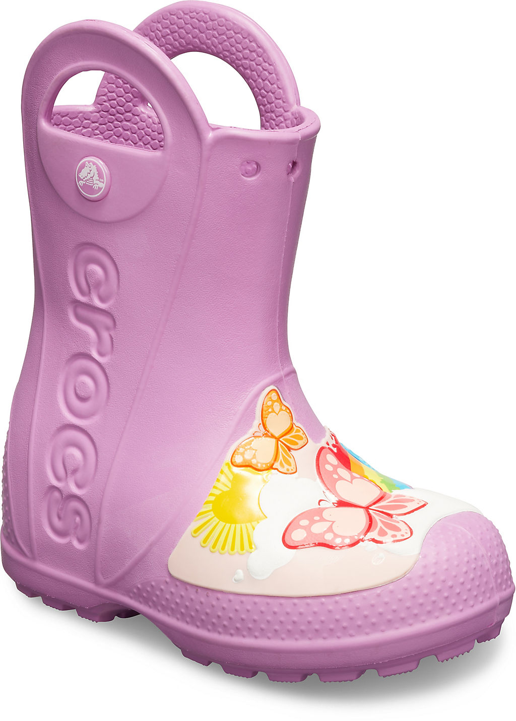 CrocsFL Butterfly Rain Boot K