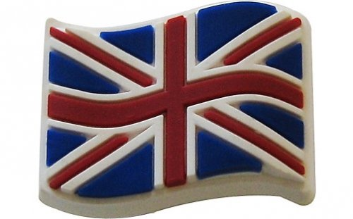 Джибитс шармс CROCS Great Britain Flag, Артикул: 10001876, фото 0