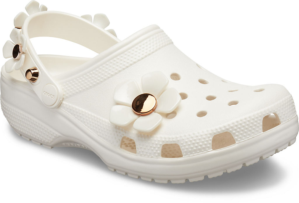 Classic Metallic Blooms Clog None