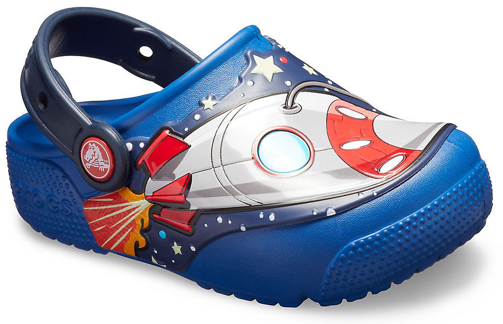 Купить Kids' Crocs Fun Lab Space Explorer Lights Clog, 4GX