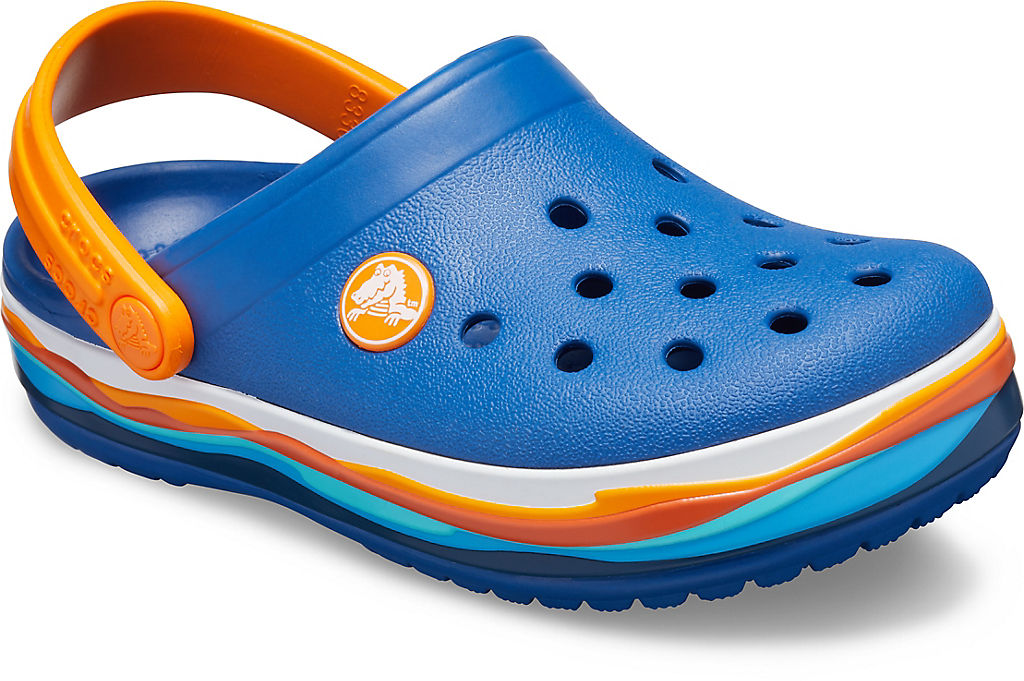 Kids' Crocband™ Wavy Band Clog CROCS