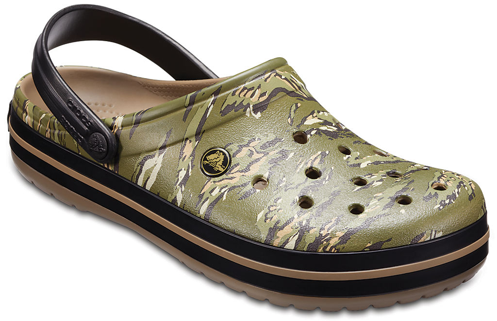 Crocband Graphic Clog