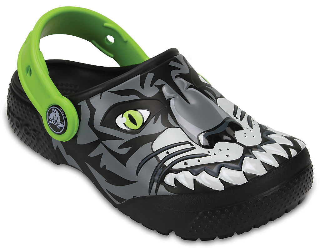 Kids' Crocs Fun Lab Clogs (Leopard)