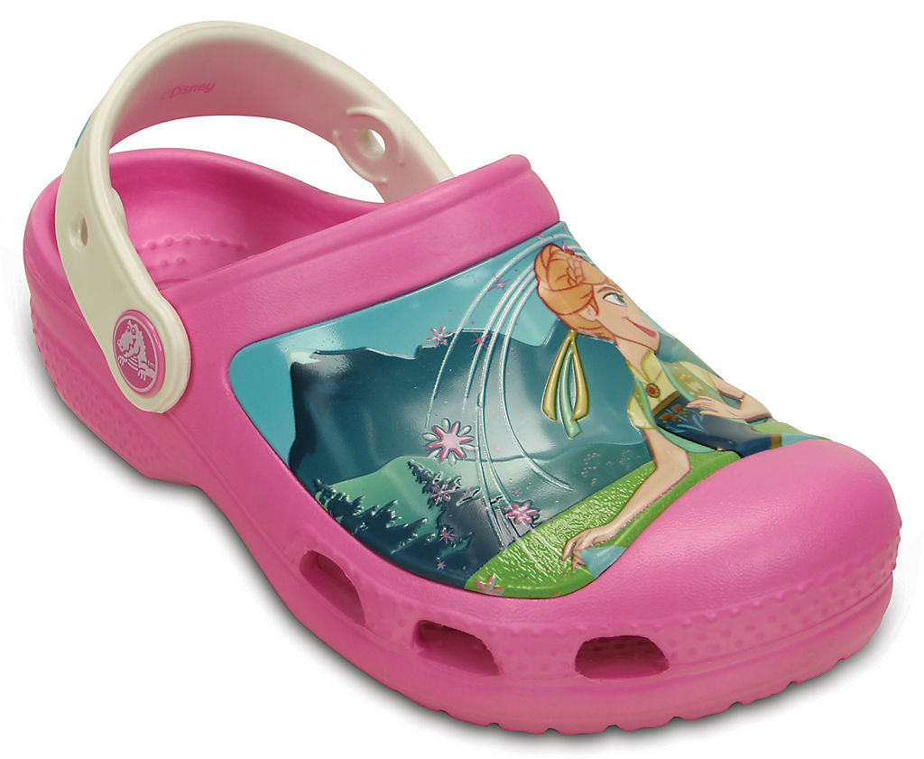 Купить со скидкой Kids' Creative Crocs Frozen Fever Clog