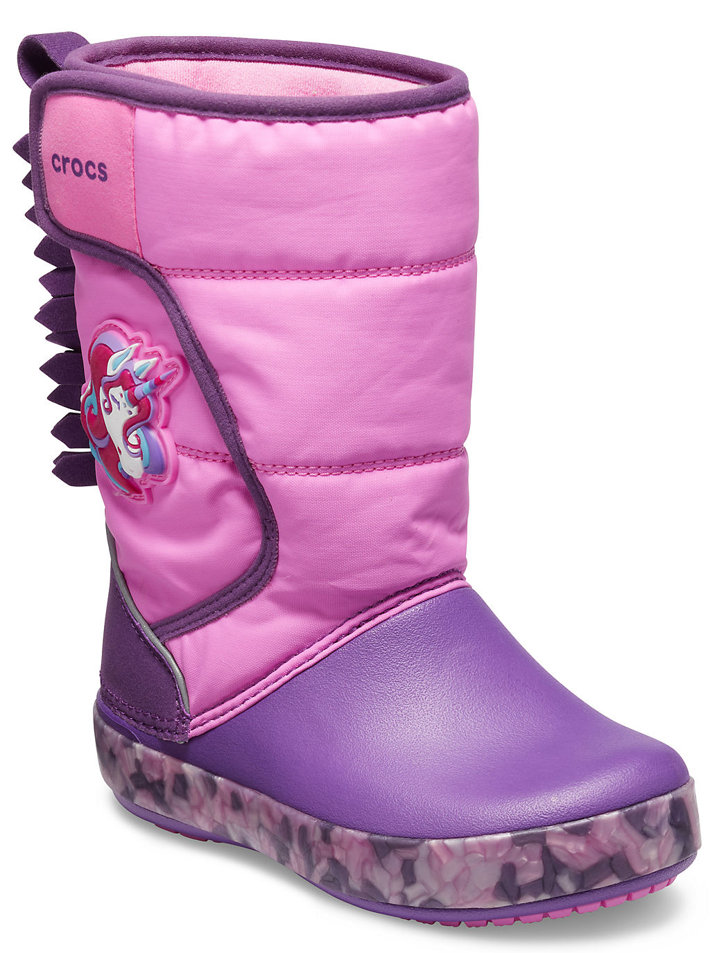 Купить Kids' Crocs Fun Lab Unicorn Lights Boot, 6U9