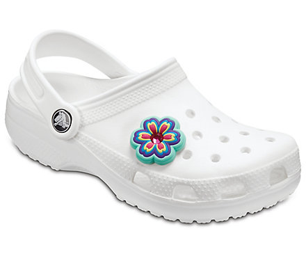 Джибитс шармс CROCS Rhinestone Rainbow Flower, Артикул: 10007023, фото 1