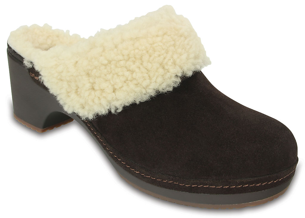 Women's Crocs Sarah Luxe Shearling Lined Clog None