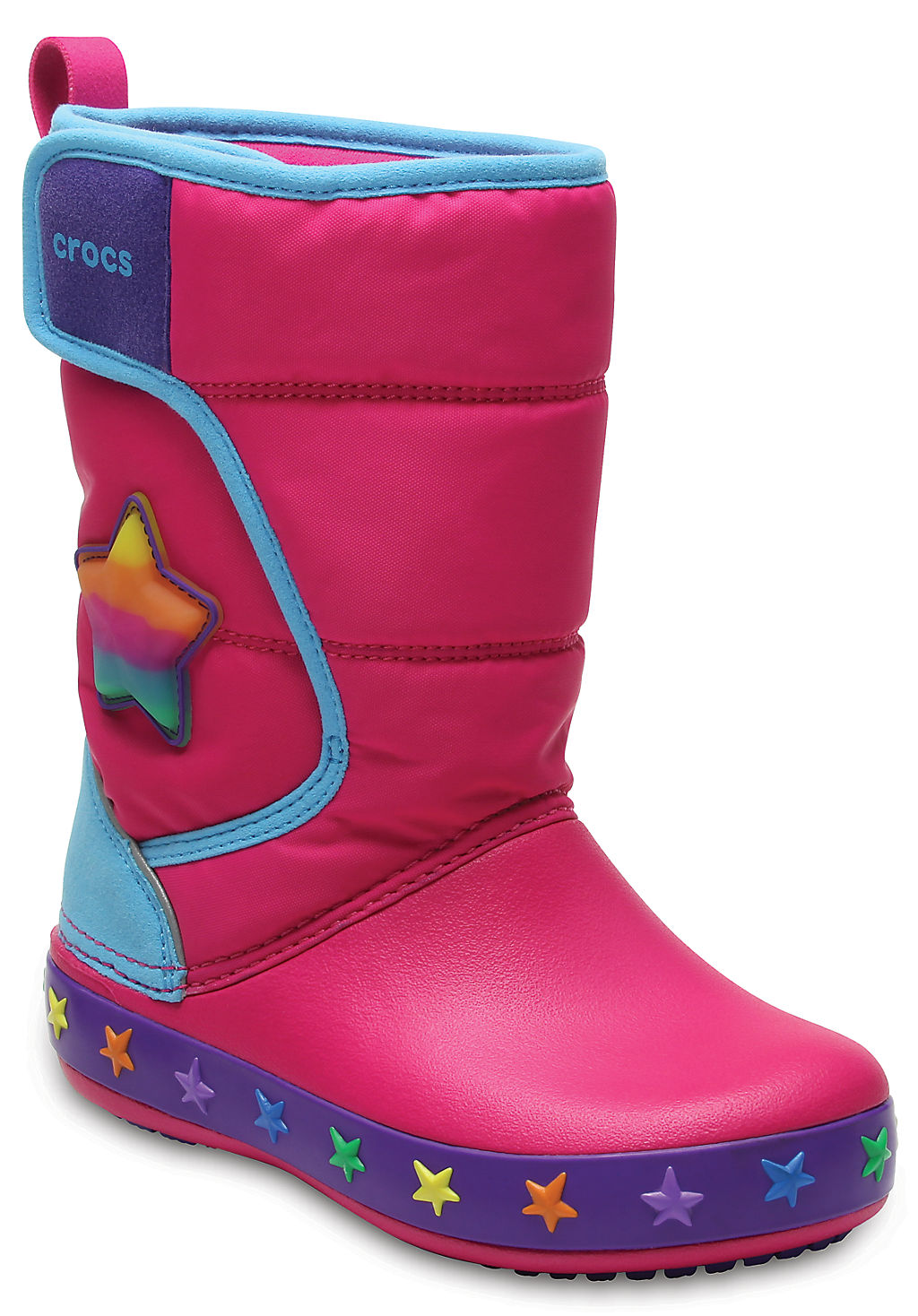 Купить со скидкой Kids' CrocsLights LodgePoint Star Boot