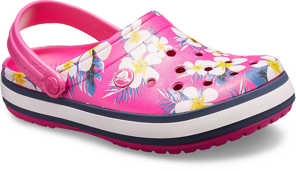 Crocband Seasonal Graphic Clog None