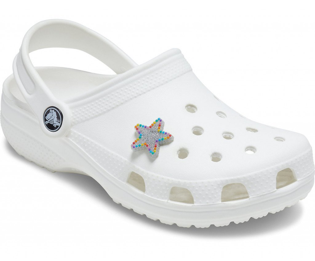 Джибитс шармс CROCS ComeAsYouAreShinyRainbowStar, Артикул: 10008091, фото 1