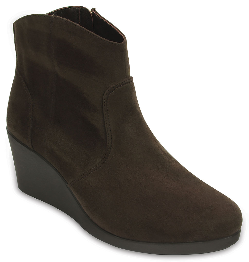 Купить со скидкой Women's Leigh Synthetic Suede Wedge Bootie