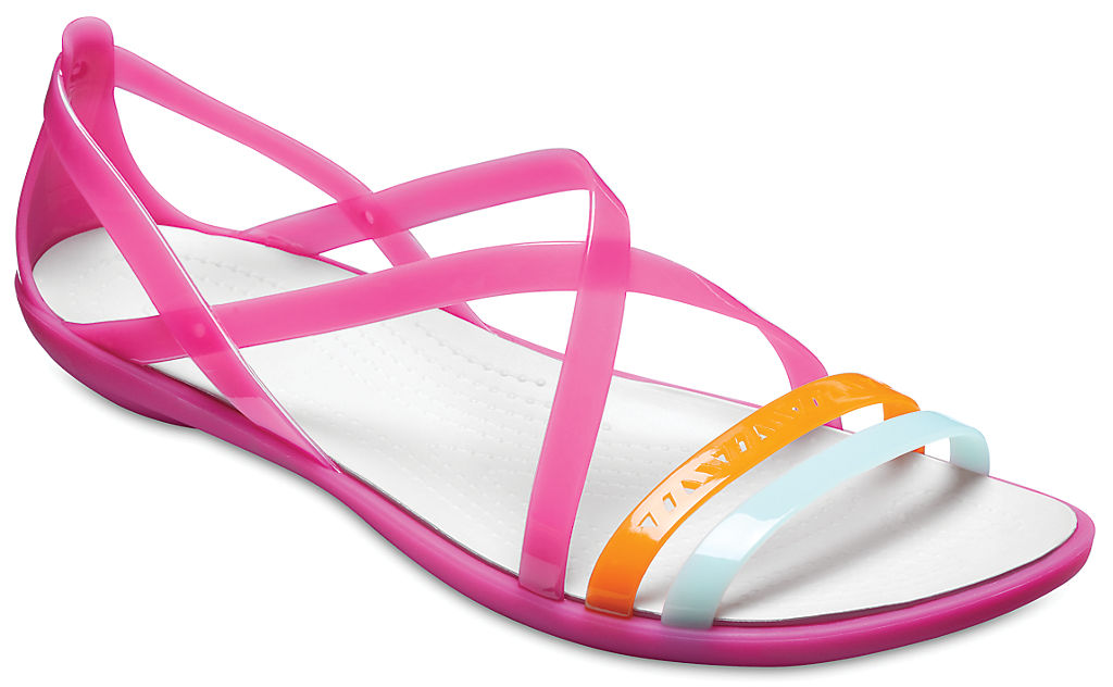 Фото #1: Women's Crocs Isabella Cut-Out Strappy Sandals